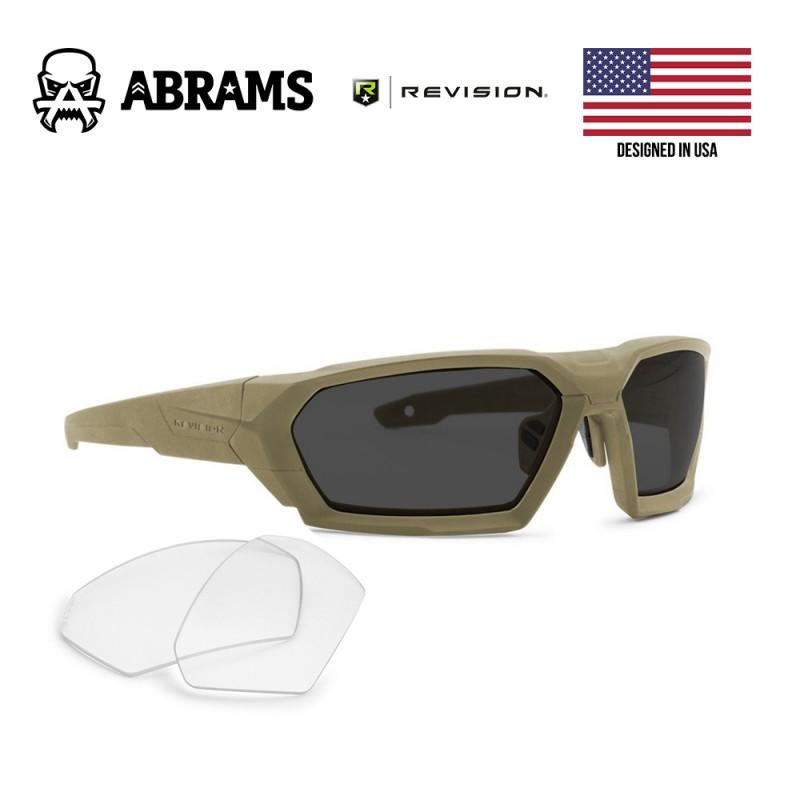 Тактические баллистические очки Revision ShadowStrike Military Tan (2 линзы)