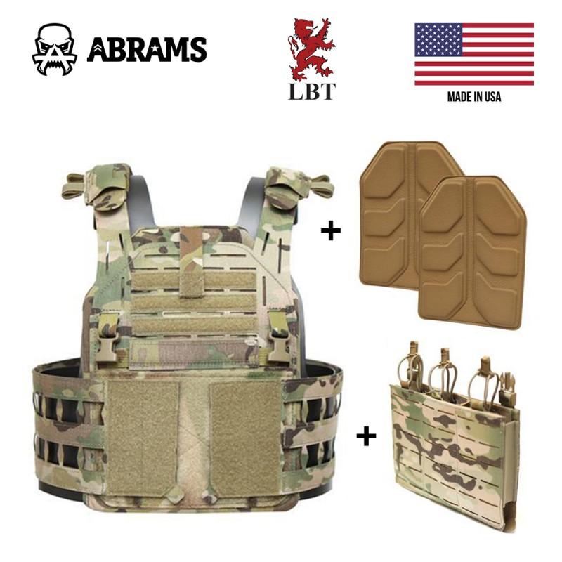 Облегченный бронежилет плэйт кэрриер LBT 6094 G3 KIT Plate Carrier MULTICAM