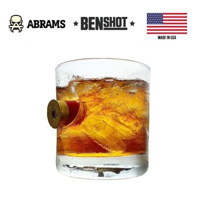 Стакан с гильзой калибр Winchester 12 BenShot Shotgun Shell Rock Glass 325 ml