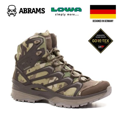 Ботинки тактические LOWA Innox GTX Mid TF Camo