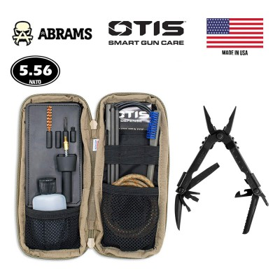 Набор для чистки OTIS I-MOD Individual 5.56mm Weapon Cleaning Kit w/Gerber Multi-Tool