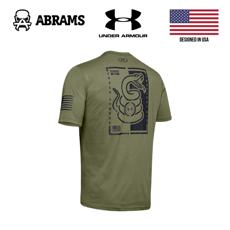 Футболка Under Armour Mission Made Snake T-Shirt