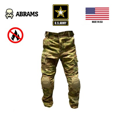 Штаны огнеупорные Army Combat Pant FR Multicam + наколенники Crye Precision