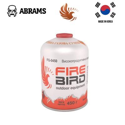 Резьбовой газовый баллон FireBird FG-0450 (450 г)