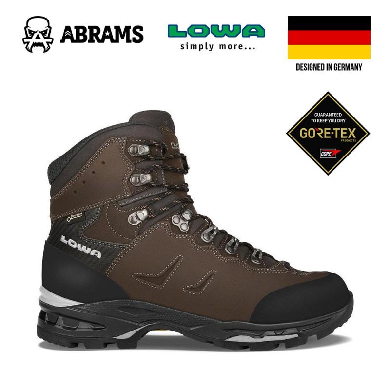 Ботинки трекинговые Lowa Camino GTX Brown Black