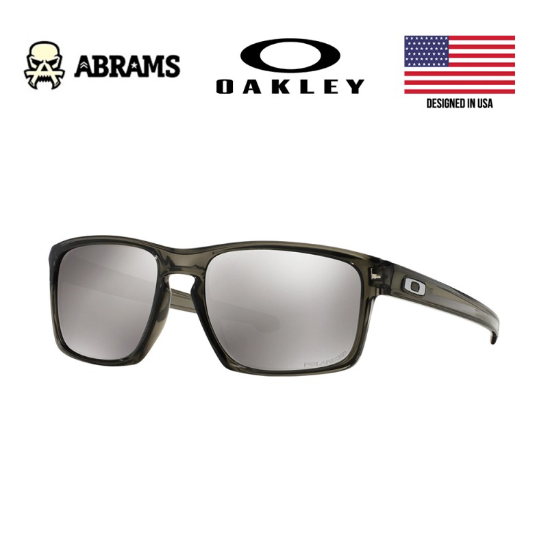 Очки Oakley Sliver Grey Smoke Chrome Iridium Polarized