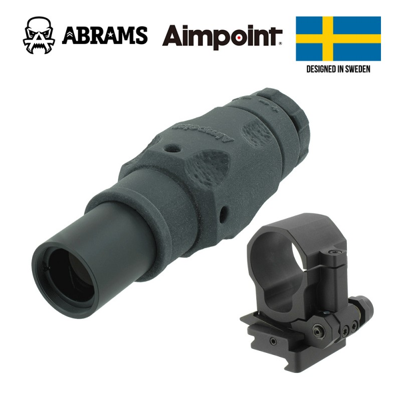 Магнифер Aimpoint 6XMag-1 + крепление FlipMount with TwistMount Base