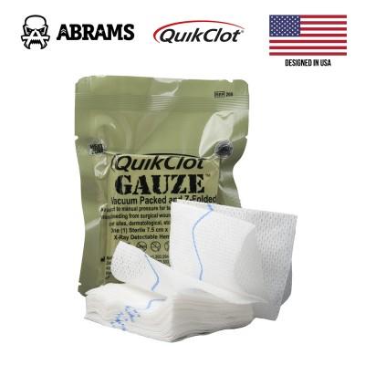 Кровоостанавливающий гемостатический бинт Quikclot Combat Gauze Z-fold