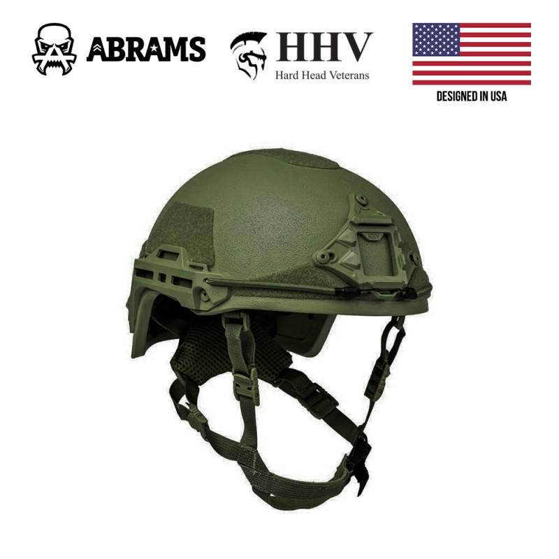 Баллистическая каска Hard Head Veterans Ballistic Helmet ATE® HHV OD Green