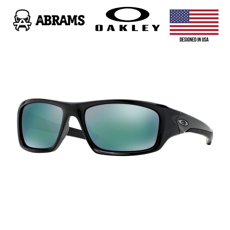 Очки Oakley Valve Polished Black Sunglasses - Deep Blue Polarized