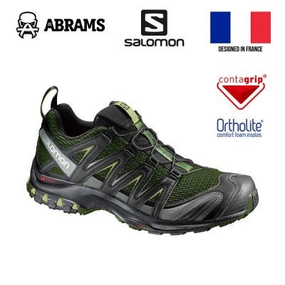 Трекинговые кроссовки Salomon XA PRO 3D Chive/Black/Beluga, размер US 9, стелька 27 см.