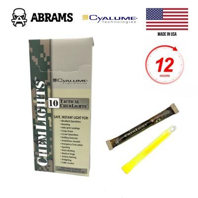 Химический источник света (химсвет) Cyalume ChemLight Military Chemical Light Sticks Yellow (10 шт.)