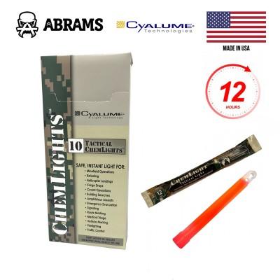Химический источник света (химсвет) Cyalume ChemLight Military Chemical Light Sticks Red (10 шт.)