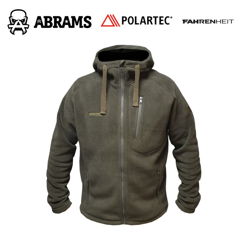 Куртка флис Fahrenheit Polartec Classic Full ZIP Hoody Crocodile