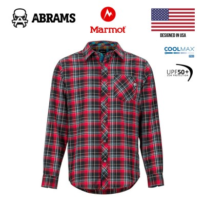 Рубашка фланелевая Marmot Anderson Lightweight Flannel Red