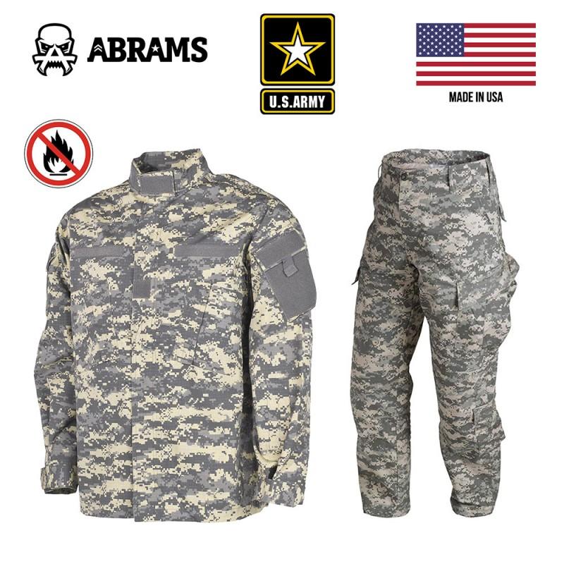 Униформа армии США с антимоскитной пропиткой - ACUpat (UCP - Universal Camouflage Pattern) Размер LR