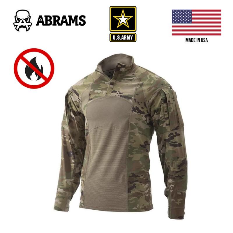 Боевая рубашка огнестойкая Massif US Army Combat Shirt Gen II (FR) - Multicam