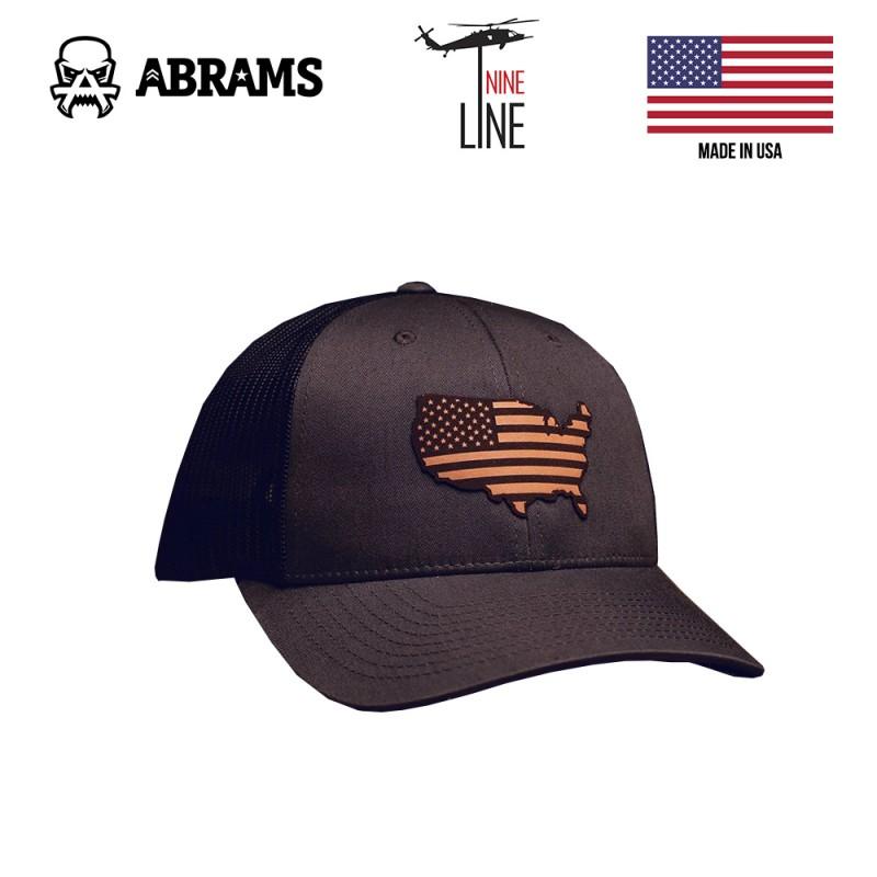 Кепка Nine Line USA 115 Hat by Richardson Grey