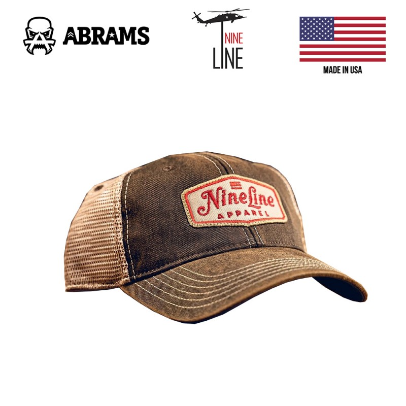 Кепка Nine Line Classic Trucker Hat - Red NLA Patch