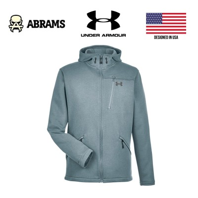 Кофта худи Under Armour Seeker Hoodie Full Zip Steel