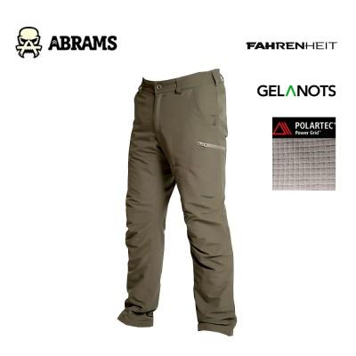 Утепленные штаны Fahrenheit Alfa Pro Gelanots Polartec Power Grid Olive