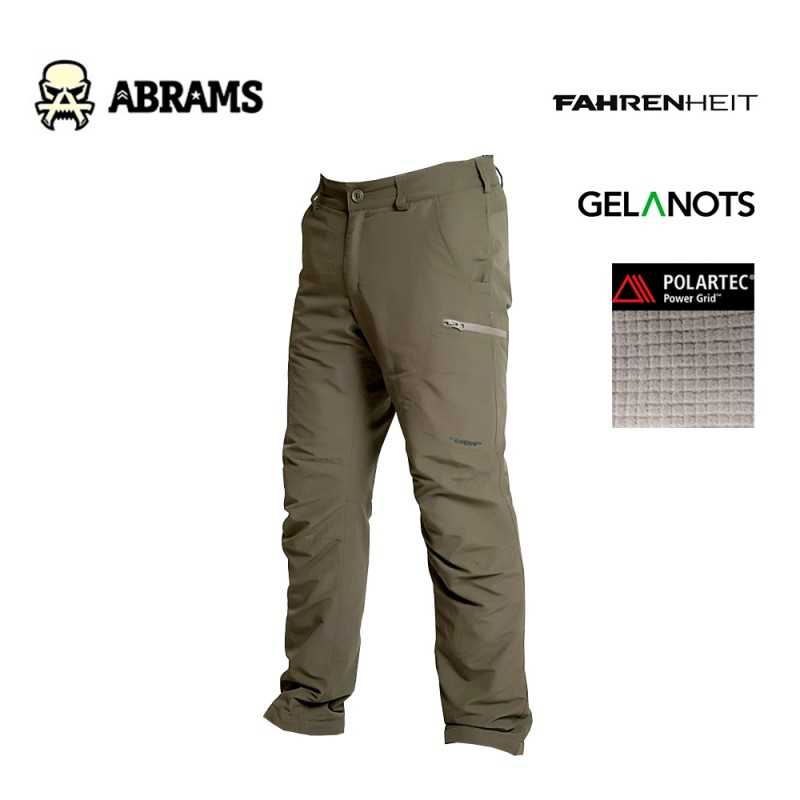 Утепленные штаны Fahrenheit Gelanots Polartec Power Grid Olive