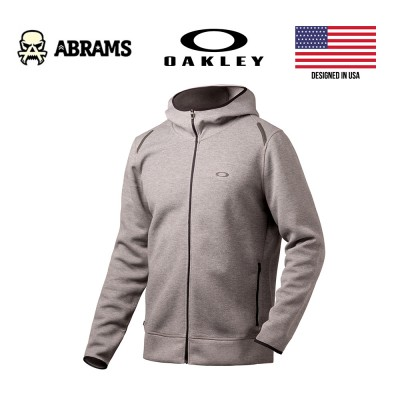 Кофта худи Oakley Tech Knit Fz Athletic Heather Grey