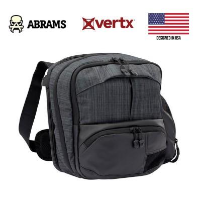 Сумка для скрытого ношения оружия Vertx Essential Sling 2.0 Heather Black 12L