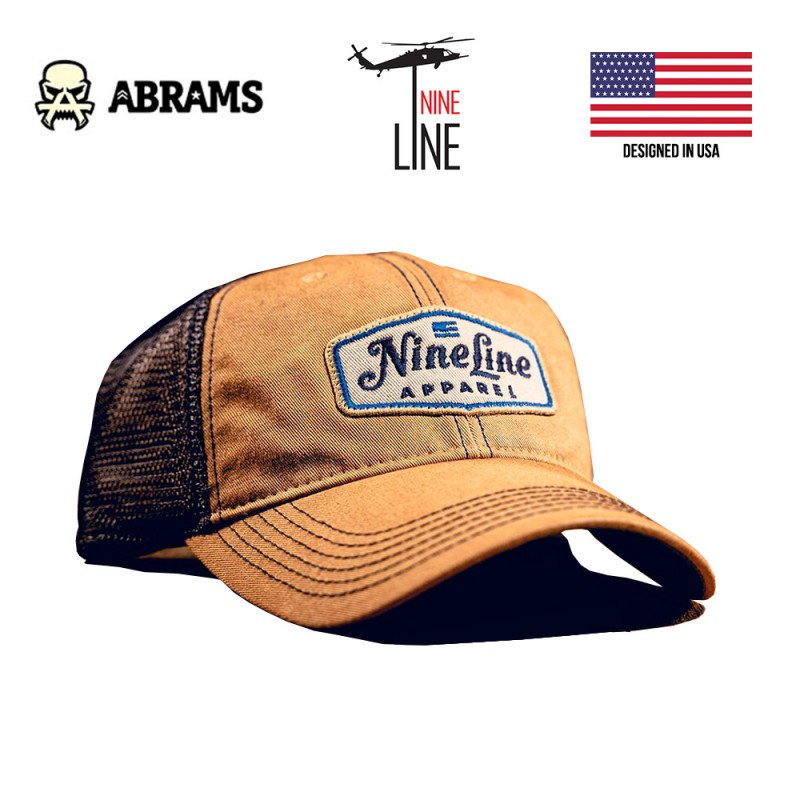 Кепка Nine Line Classic Trucker Hat - Khaki Navy