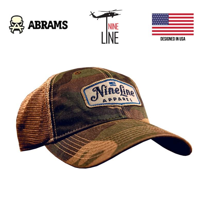 Кепка Nine Line Classic Trucker Hat - Camo