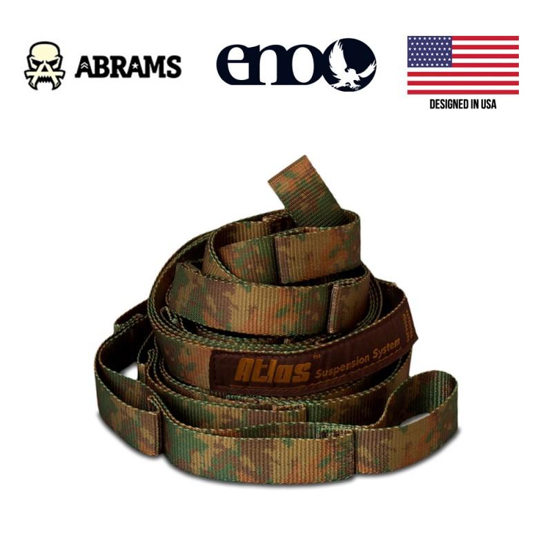 Подвесная система стропы ENO Atlas Camo Suspension System 180 кг