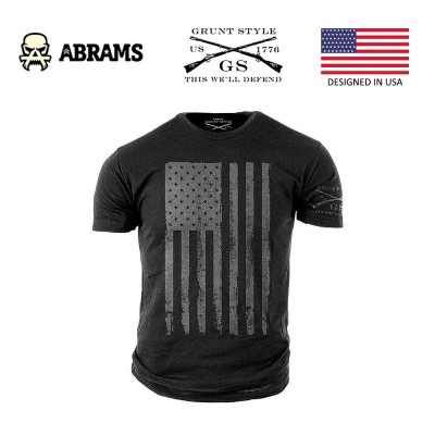 Футболка Grunt Style Mens America Grey