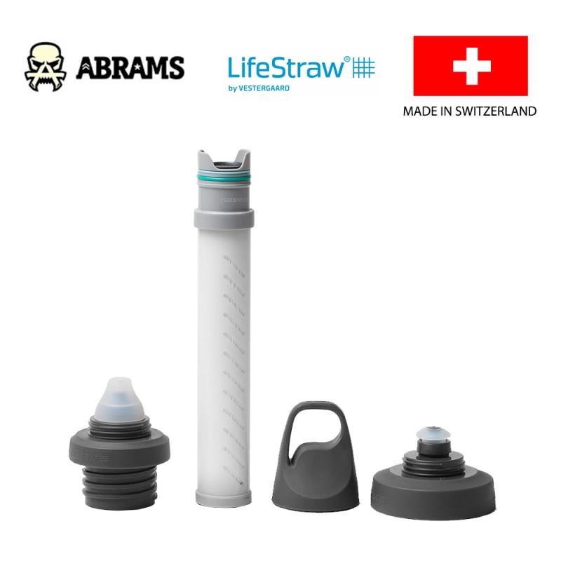 Универсальный адаптер для бутылок с 2-ступенчатой фильтрацией LifeStraw