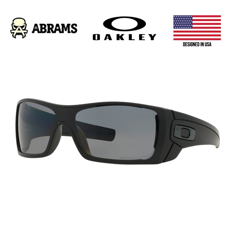 Очки Oakley Batwolf Matte Black Grey Polarized