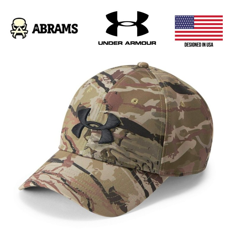 Кепка Under Armour Camo Stretch Fit Cap