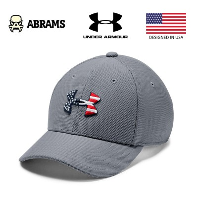 Кепка Under Armour Freedom Blitzing Cap Steel