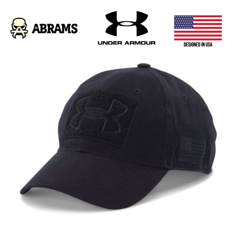 Кепка Under Armour Black UA Tactical Patch Cap
