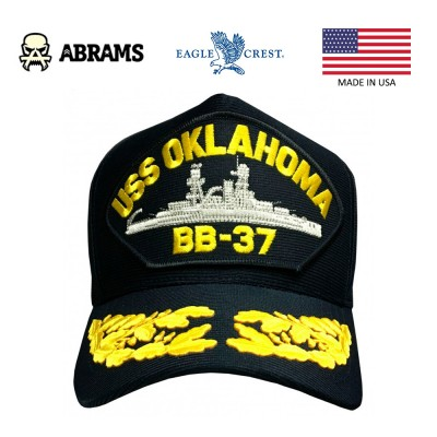 Кепка Eagle Crest USS Oklahoma BB-37
