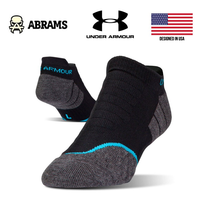 Носки Under Armour All Season Cool No Show CoolMax Black