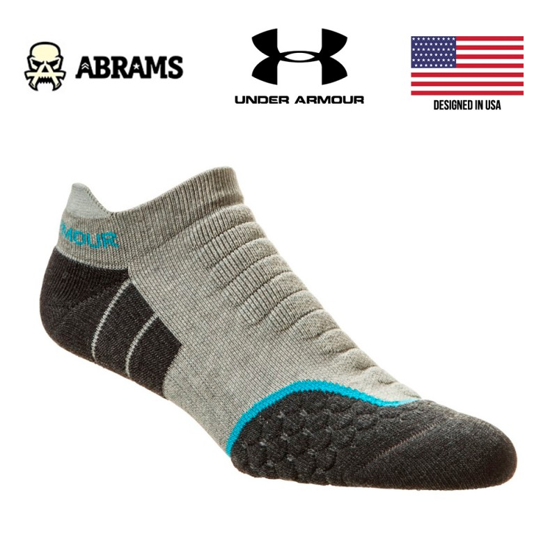 Носки Under Armour All Season Cool No Show CoolMax Grey