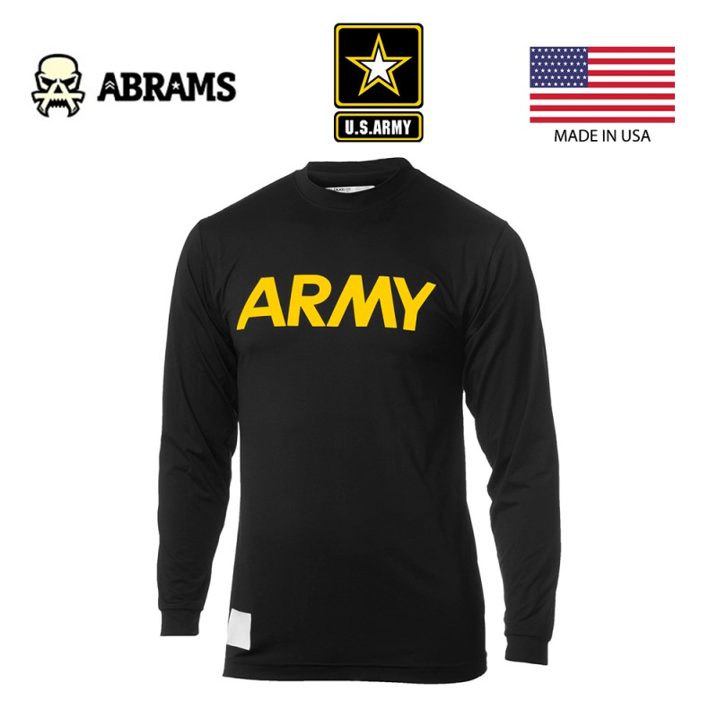 Кофта US Army APFU T-Shirt Long Sleeve Physical Fit