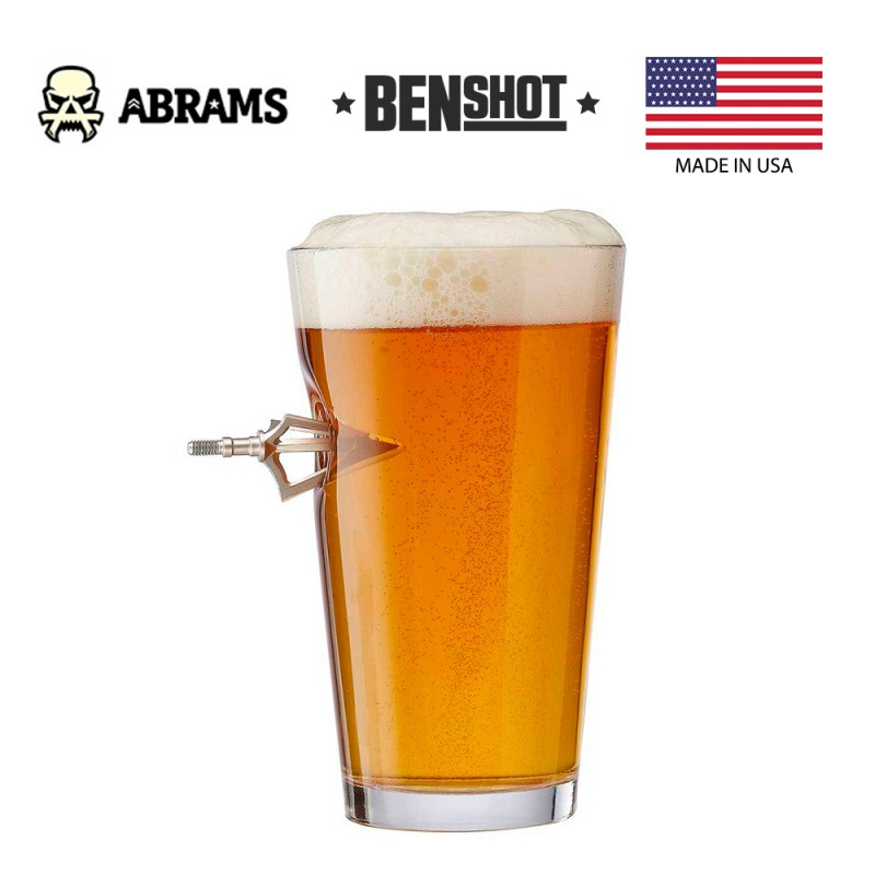 Стакан BenShot Broadhead Pint Glass 470 ml
