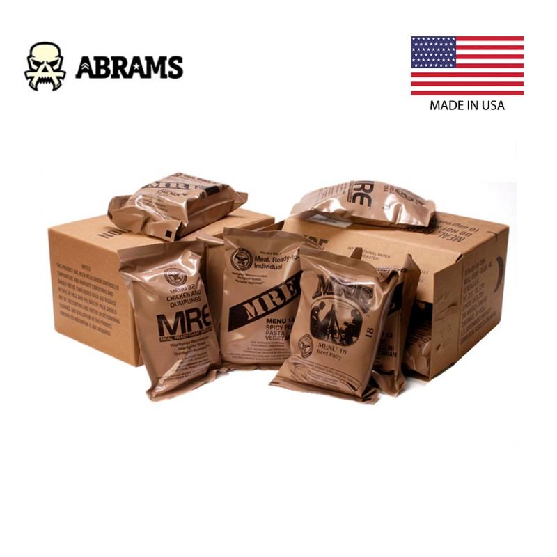 Американский военный сухпай MRE - коробка 12 шт