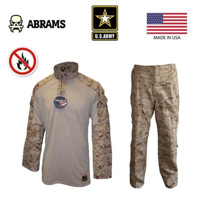 Комплект боевая рубашка и штаны USMC FROG - Marpat Desert