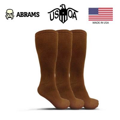 Носки антимикробные USOA - Brown (Три пары)