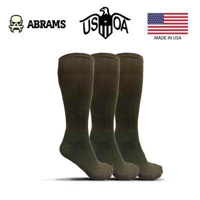 Носки антимикробные USOA - Green (Три пары)