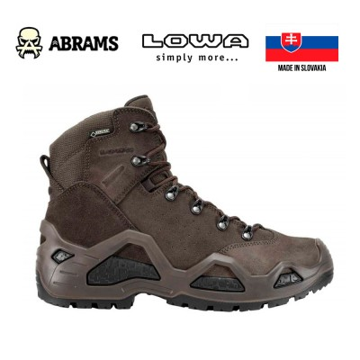 Ботинки тактические Lowa Z-6S GTX Dark Brown