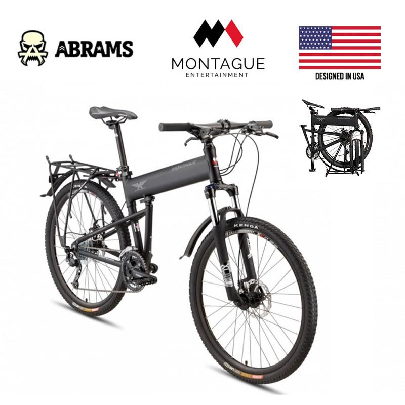 Тактический горный складной десантный велосипед Montague Paratrooper Pro (ПОД ЗАКАЗ)