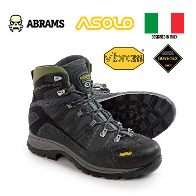 Трекинговые ботинки Asolo Neutron Gore-Tex® Hiking Boots Graphite/Dark Pear, размер UK 10.5/US 11/EUR 45/ 29.5 cm