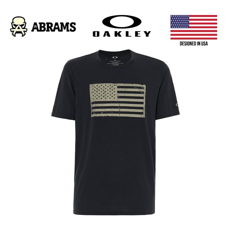 Футболка Oakley Men SC-Mil Flag Black
